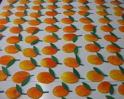 Apliques de frutas - manga
