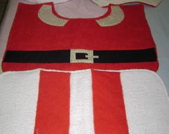 Kit de Banheiro Papai Noel 03 pe�as