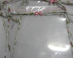 Saquinho De Maternidade Floral Vintage