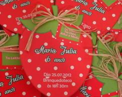 Convite Morango