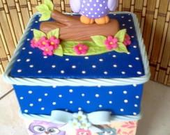 Corujinha - caixinha decorada