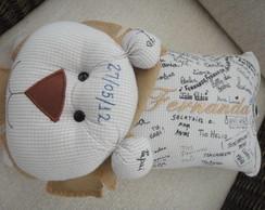 Travesseiro de assinaturas