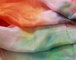 Echarpe tye dye