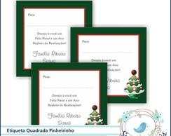 27 Etiquetas Personalizada Pinheirinho