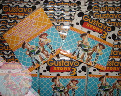Convite Toy Story Gustavo (Entregue)