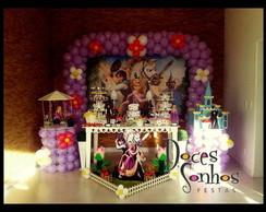 decora��o de festa Rapunzel Proven�al