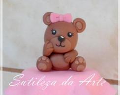 Ursinha - lembrancinhas em biscuit