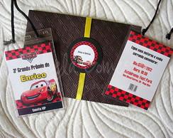 Convite Credencial - Carros