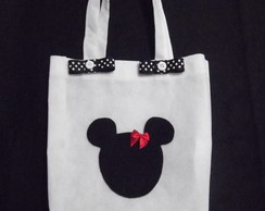 Eco Bag Tema Mickey e Minnie 01