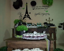 Decora��o de Festa Paris