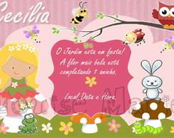 Convite Jardim Encantado - �m�