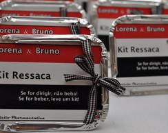 Embalagem personalizada kit ressaca