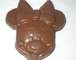 Pirulito de Chocolate Mickey e Minnie