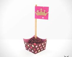 Forminha + Bandeirinha Princesa