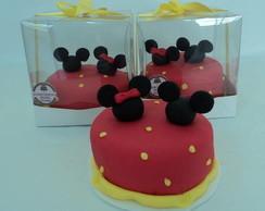Mini bolo da Minnie
