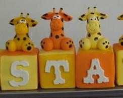 Lindos cubos - Girafas!! Biscuit