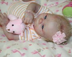 Baby Girl Kadence - cabelos implantados