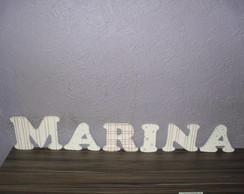 LETRAS EM MDF - Marina