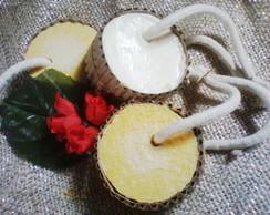 Sabonete Esfoliante de Fub� e Mel