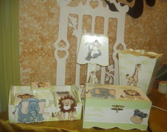 Kit Beb� Safari 7Pe�as