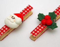 Pregadores natalinos em biscuit