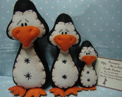 Trio de Pinguins