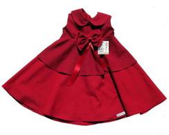Vestido Infantil vermelho 26D013