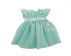 Vestido de Festa Infantil verde 26D0DE