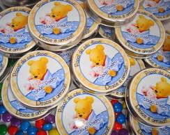 Latinha Personalizada Ursinho Pooh Baby
