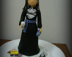 Topo de bolo - Formatura da Paula