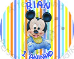 Baby Disney R�tulo Adesivo