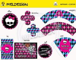 Kit Festa Digital Monster High