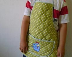 Avental infantil Galinha Pintadinha