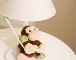 Abajur de macaco