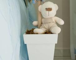 Vaso de ch�o urso com pirulito