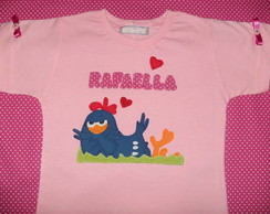 Camisa galinha pintadinha (modelo 1)