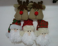 Papai Noel e rena para �rvore