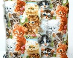 Capa de almofada pequena gatinhos [cod1]