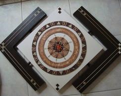 Mandala em Tela Vazada