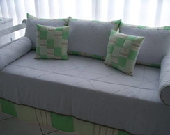 Kit cama bab� London verde