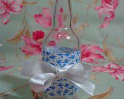 Mini garrafa de vidro