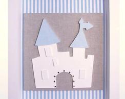 Quadro de castelo com vidro
