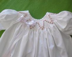 Vestidinho Para Batizado - Modelo 3