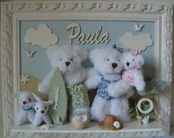 Fam�lia Paula na Praia