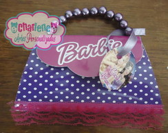 Convite Bolsinha Barbie Popstar