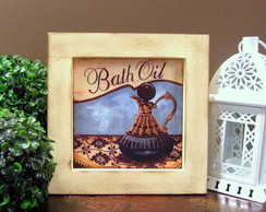 Mod2.Quadro Bath Oil Blue I