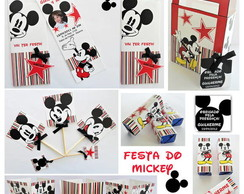 Kit Festa Digital Person. do Mickey