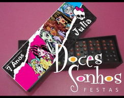 Domin� personalizado monster high