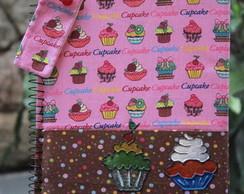 Caderno Cup Cake na Esquina