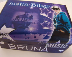 Lembrancinha Justin Biber